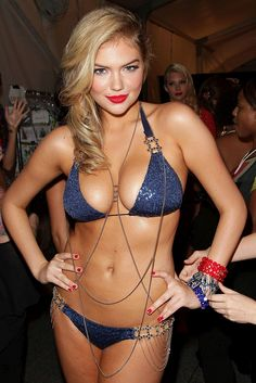 Kate Upton Bikini Body – Backstage at Beach Bunny Fashion Show ...