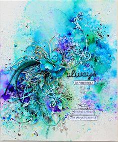 2 Crafty Chipboard : Canvas, Colour and Fun with Trudi Harrison