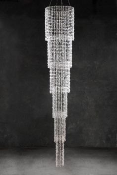 Best Chandelier Long Chandeliers Images On Pinterest - Long chandelier crystals