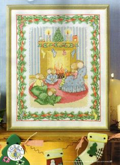 Furry Tales Storytime Around the Fireside The World of Cross Stitching Issue 131 Christmas 2007