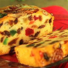 Orange Grand Marnier Fruit Cake