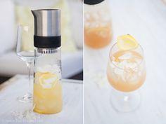 """""""Ice Tea Monday"""" – Lemon Pineapple Coconut Tea – wie aus einem Südsee-Traum ein Eistee wurde *hihi*"""
