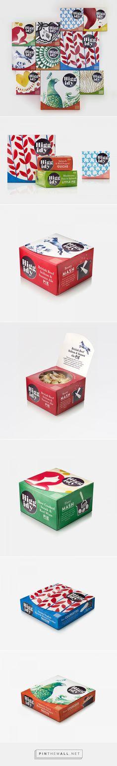 Higgidy handmade pies packaging design by B&B studio - http://www.packagingoftheworld.com/2017/02/higgidy.html
