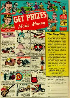 1953 comic book ad from mad magazine
