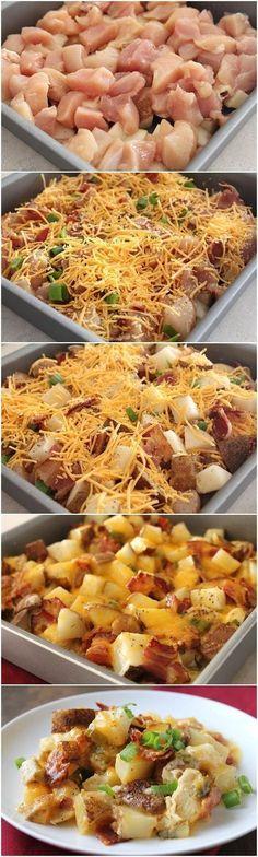 Loaded-Baked-Potato-Chicken-Casserole