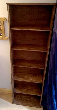 Handmade Available On Etsy Uk Rustic Bookshelves In Eco Friendly Solid Wood To Order Prices From 22 50 Designed By M