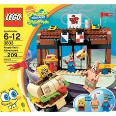 LEGO SpongeBob SquarePants Krusty Krab Adventures 3833