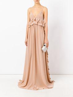 Rochas 러플 드레스