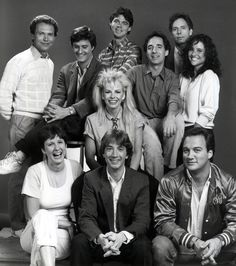 """Saturday Night Live,"". Stars including Martin Short, Jim Belushi,  Pamela Stephenson, Billy Crystal,  & Julia Louis-Dreyfus Sept 1984"