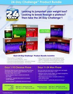 24 day challenge from Advocare works! I lost 20lbs doing it! Let me help you too. Buy your challenge here www.advocare.com/14068669