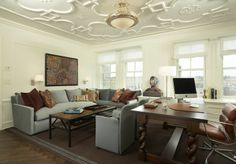 Ceiling design - tracery | Andrew Flesher Interiors