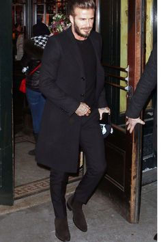 Get on board with the Chelsea (re)boot Black Chelsea Boots Outfit, Black Suede Chelsea Boots, Mens Boots Fashion, Mens Fashion Suits, Womens Fashion, David Beckham Style, Moda Formal, Best Street Style, Stylish Mens Outfits