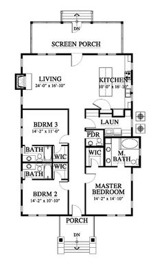 1000 images about tropical floor plans designs on - Kitchen and dining area design crossword ...