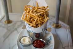 Whether simple salted shoestrings or loaded-up messes, here are all of NYC's best fries.