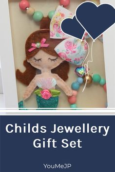 Fabulous mermaid gift set will bring smiles to that little one. If you love gifting unique items not found in every shop check out our listings