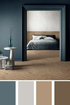Light nuances for a special bedroom bedrooms stiffkey Bedroom soul made by soft wood nuances Bedroom Wall Colors, Bedroom Color Schemes, Home Decor Bedroom, Modern Bedroom, Wood Bedroom, Decor Room, Paint Colors For Home, House Colors, Living Room Red