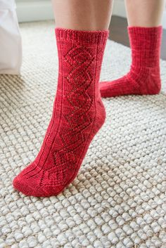 """skeinyarns: """"We've jumped aboard the Socktober train with who has designed, with our yarn, four fun sock patterns! The first is Celtic Climbers - how cool are these! Each pattern. Crochet Socks, Knitting Socks, Knit Crochet, Knit Socks, Mitten Gloves, Mittens, Rainbow Dog, Knitting Patterns, Crochet Patterns"""