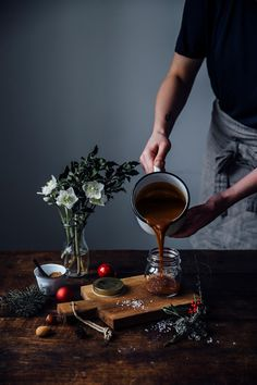 Our Food Stories // glutenfree quince-caramel christmas tart
