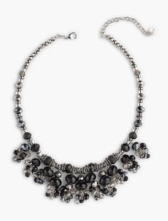 Bead Chandelier Necklace - Talbots