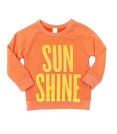 SUN SHINE sweatshirt | peek kids