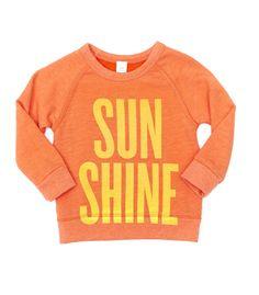 SUN SHINE sweatshirt | peek kids
