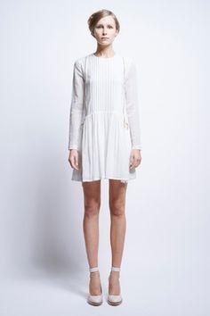 Vika Pintucked Dress