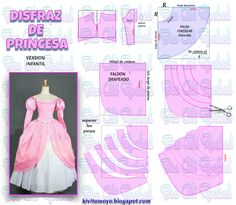 KiVita MoYo : VESTIDO DE PRINCESA - Version Infantil