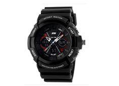 Mens Sport Watches Quartz Silicone Wristwatches Designer Watches Black