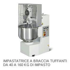 PLUNGING ARM MIXER FOR BREAD , FOCACCI A E PIZZA. Impastatrice A Braccia  Tuffanti Per Pane Focacce E Pizze.