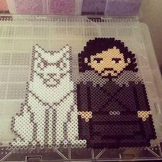Game of Thrones perler beads  by perlermethis