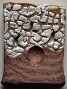RICE GLAZE: ∆5 RED Magnesium Carbonate 25% Nepheline Syenite 70% Kentucky Ball Clay 5% + Superpax 0.5% ☆ Clay body: Siliver stone It looks like rice so I named rice glaze. :D