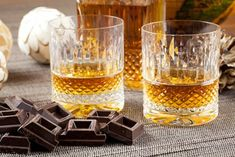 Whisky and Chocolate -many distilleries around Britain are beginning to pair their liquor with delicious foods. Dalwhinnie Distillery, in the Scottish Highlands, pairs classic single malt whiskies with handmade highlands chocolate. Melton Mowbray Pork Pie, Rum, Pudding Club, Summer Pudding, Bakewell Tart, Food Porn, Cocktails, Pubs And Restaurants, Gastronomia