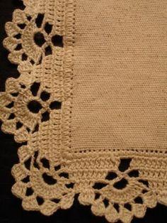Resultado de imagem para muestras de bordes a crochet