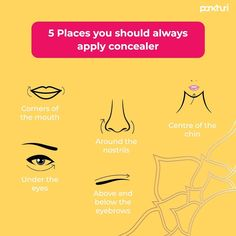 Want to highlight your best features in the most alluring manner? It starts with concealing correctly.  DM us to know more makeup do's and don'ts.  #askpankhuri #pankhuribride #concealer #conceal #makeuplooks #makeuptutorial #makeuptricks #makeuptip #makeupbase #makeuphighlight #makeuplife #makeuptime #lakme #maybelline #nykaa #mac #maccosmetics #facescanada #cosmetics How To Apply Concealer, Make Up Time, Highlighter Makeup, Manners, Maybelline, Mac Cosmetics, Eyebrows, Makeup Looks, Face