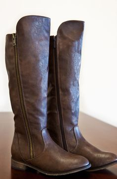 Cozy Cabin Boots-Brown