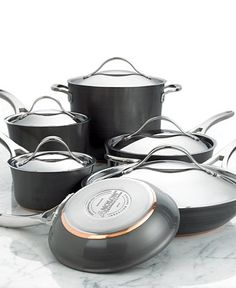 One of these days (aka, when we get our house), this is what I need since all my cookware is warped.