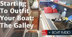 Where do you start in outfitting the galley on your new boat? It's a kitchen, but different . . . tips to help you select the best gear.