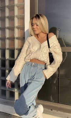 Oufits Casual, Cute Casual Outfits, Winter Outfits, Spring Outfits, Fashion Killa, Look Fashion, Fashion Outfits, Mode Ootd, Look Girl