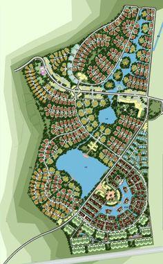 Conceptual Design of Ecotypic Garden of Shilichangshan Landscape Design Plans, Landscape Architecture Design, Urban Architecture, Futuristic Architecture, Urban Design Concept, Urban Design Plan, Plan Design, Conceptual Drawing, Conceptual Design