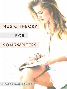 A 5-part email course breaking down the basics of music theory and how they apply to songwriting.