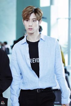 """170518 Going to Press Conference """"Law of the Jungle in New Zeland"""" #mark #marktuan #got7 #igot7 #ahgasae #myperfectboy #MG7 #AHGASAE #IGOT7 #MYPERFECTBOY #MARK #MARKTUAN"""