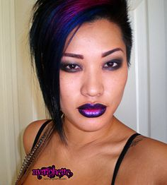 Dramatic face makeup | ... dramatic MAC Face & Body c4 gradient lip asian makeup nymphette