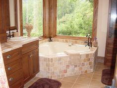 Relax in this oversized soaking bathtub! The Tuscany #877