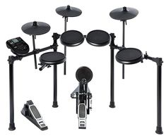 Alesis Drum Sets Nitro Kit Electronic Drum Set with Snare Toms and Cymbals Electric Drum Set, Drum Pedal, Toms, Electronic Kits, Drum Lessons, Drum Machine, Snare Drum, Bass Drum, Drum Kits