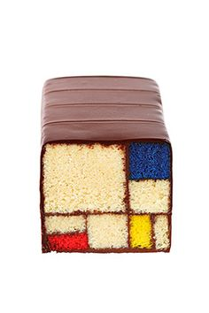 not wood ........................ha ha ha   caught you out nope this is cake  Piet Mondrian cake from a new book by the proprieters of the blue bottle cafe in San Francisco