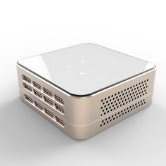 Ivation Pro3 Portable Rechargeable DLP Projector – Streams via HDMI/MHL & USB connections, Wi-Fi, Bluetooth – Compatible with DLNA, Miracast, Airplay Wireless Mirroring for iOS & Android - Silver: Amazon.ca: Electronics