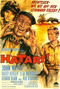 Poster zum Film: Hatari!