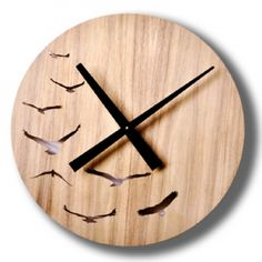 POP - Today's Sale: Fun & Modern Sustainable Timber Wall Clocks