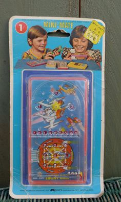 vintage minimate  hand held pinball game fun by nestingplacemarket