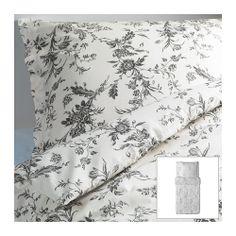 use existing bedding. ALVINE KVIST Bettwäscheset, 2-teilig IKEA Perkal: kühle Bettwäsche aus dichtgewebtem, feinfädigem Garn.